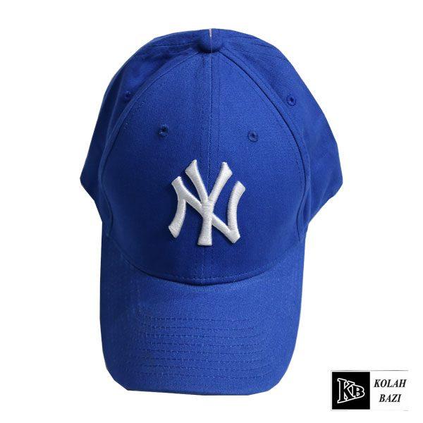 کلاه بیسبالی لبه دار آبی ny