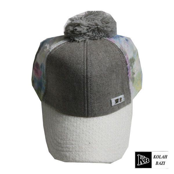 کلاه بیسبالی طوسی سفید