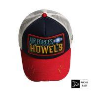 کلاه پشت تور دار قرمز