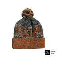 کلاه بافت کشی نارنجی