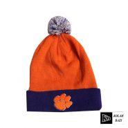 کلاه بافتنی کشی نارنجی