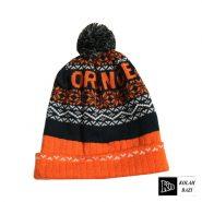 کلاه تک بافت نارنجی