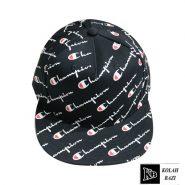 کلاه کپ طرح دار مشکی