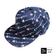 کلاه کپ طرح دار آبی