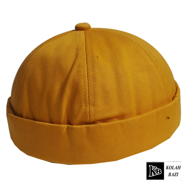 کلاه لئونی خردلی ساده