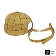 کلاه لئونی چهارخونه