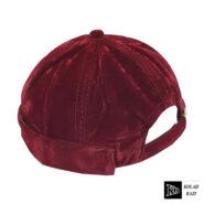 کلاه لئونی مخملی قرمز