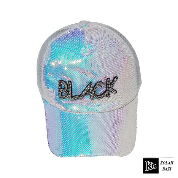 کلاه پشت تور سفید رنگی