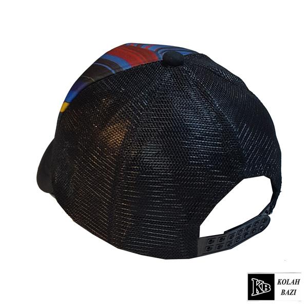 کلاه پشت تور رنگی