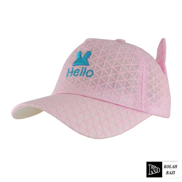 کلاه پشت تور بچه گانه صورتی