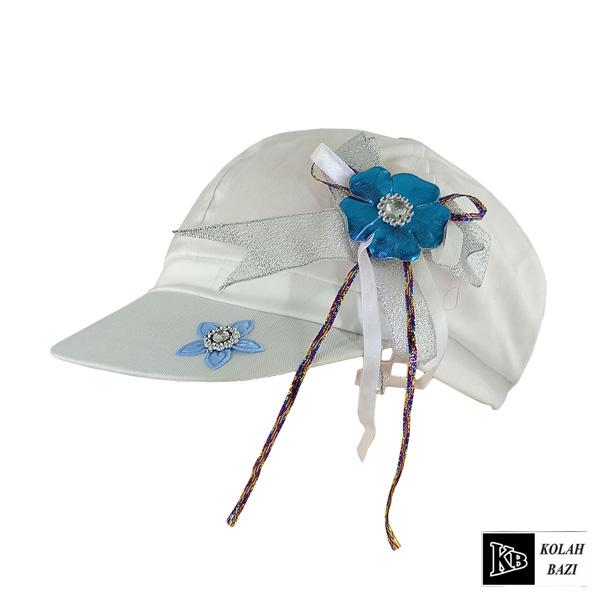 کلاه بیسبالی بچه گانه سفید آبی