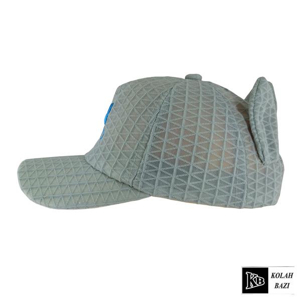کلاه پشت تور بچه گانه طوسی