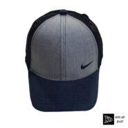 کلاه پشت تور مدل نایک طوسی