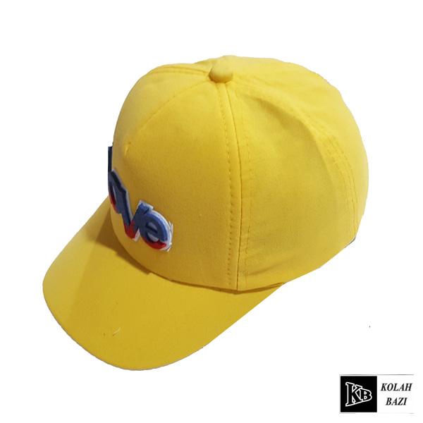 کلاه بیسبالی بچه گانه زرد