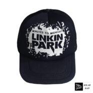 کلاه پشت تور مشکی لینکینگ پارک