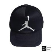 کلاه پشت تور جردن مشکی