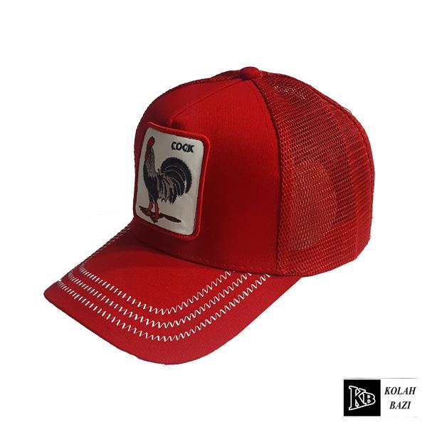 کلاه پشت تور قرمز خروس