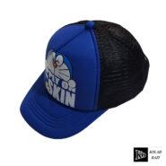کلاه پشت تور بچه گانه آبی