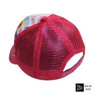 کلاه پشت تور بچه گانه قرمزآبی