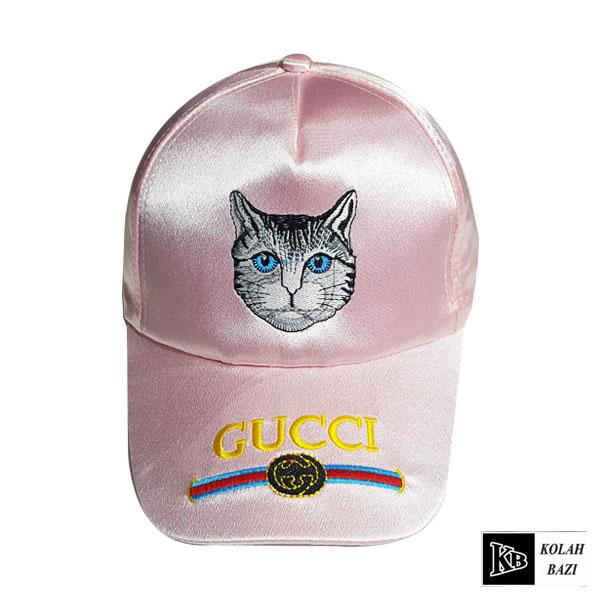 کلاه بیسبالی صورتی گربه ای