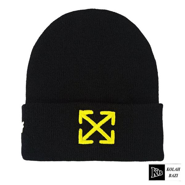 کلاه تک بافت زرد