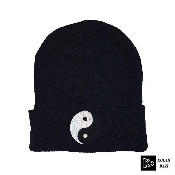 کلاه تک بافت مشکی