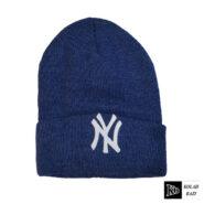 کلاه تک بافت آبی