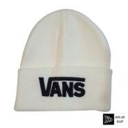 کلاه تک بافتنی سفید