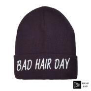 کلاه تک بافتنی بنفش