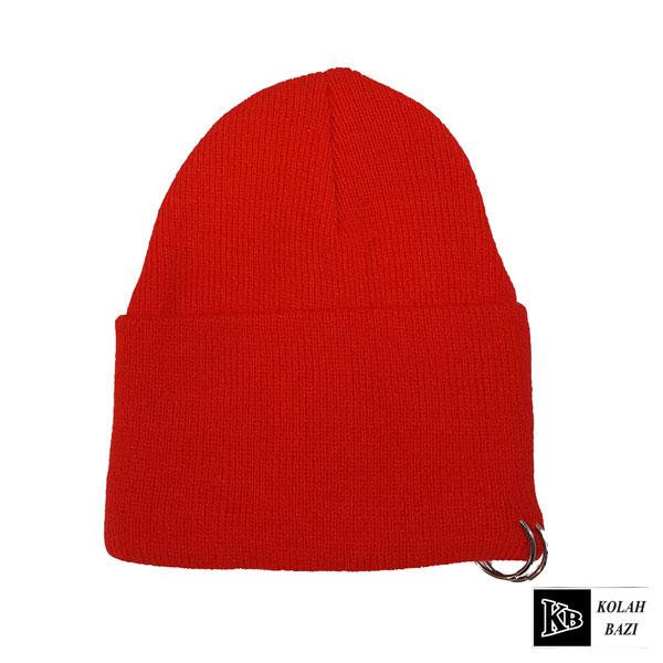 کلاه تک بافتنی قرمز