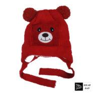کلاه تک بافت بچه گانه قرمز