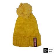 کلاه تک بافت بچه گانه زرد اسپرت