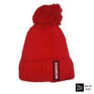 کلاه تک بافت بچه گانه قرمز اسپرت