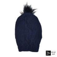 کلاه تک بافت سرمه ای