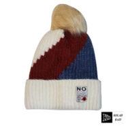 کلاه تک بافت رنگی