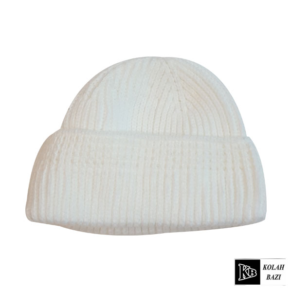 کلاه لئونی بافت سفید