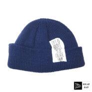 کلاه لئونی بافت آبی