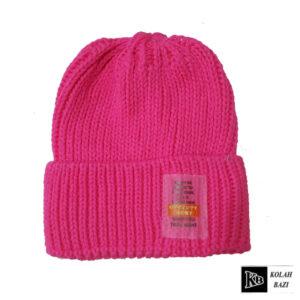 کلاه تک بافت بنفش