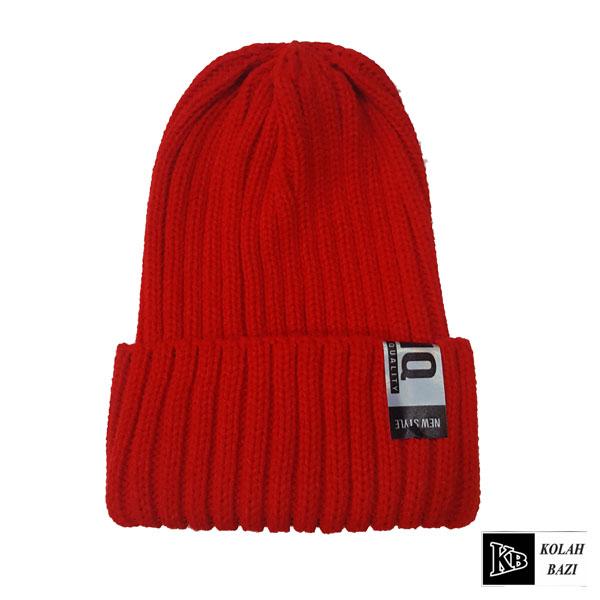 کلاه تک بافت قرمز