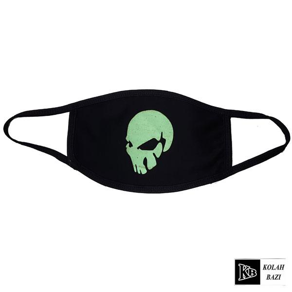 ماسک چاپی سبز