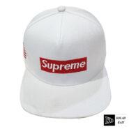 کلاه کپ سفید سوپرمی