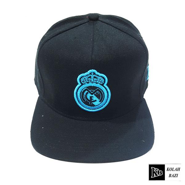 کلاه کپ مشکی آبی مادرید