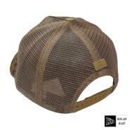 کلاه پشت تور قهوه ای