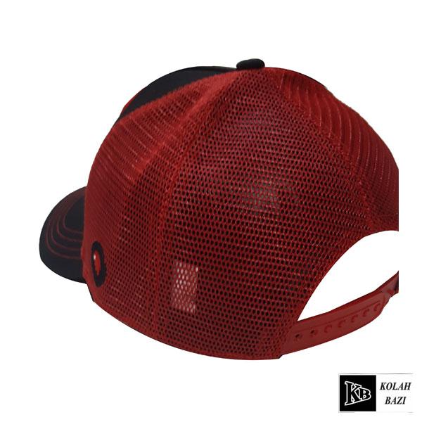 کلاه پشت تور مشکی قرمز