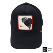 کلاه پشت تور مشکی بوفالو