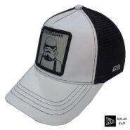 کلاه پشت تور سفید مرد مورچه ای