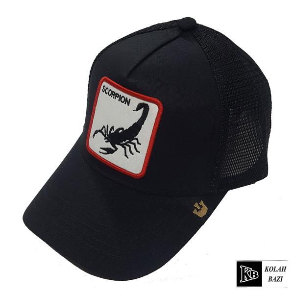 کلاه پشت تور مشکی عقرب