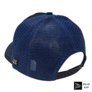 کلاه پشت تور مشکی آبی