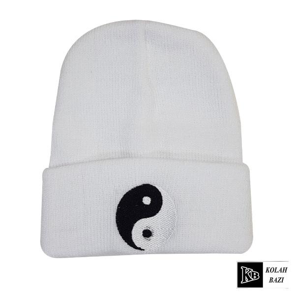 کلاه تک بافت سفید
