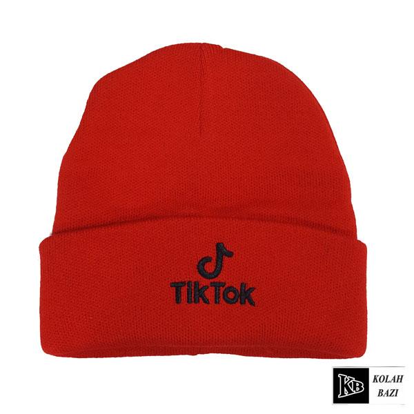 کلاه تک بافت قرمز تیک توک
